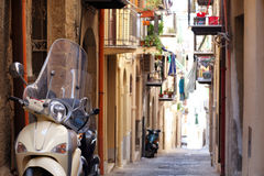 Italian street Royalty Free Stock Photos