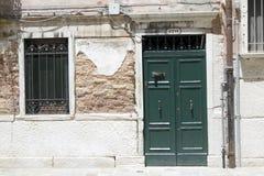 Italian street. Typical Italian street in Venice Royalty Free Stock Photography