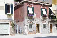 Italian street. Typical Italian street in Venice Stock Image