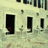 Italian street cafe Stock Image