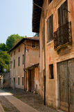 Italian street of old town Royalty Free Stock Photography