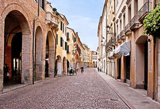 The italian street Stock Photography