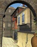 Italian Street Scene Stock Images