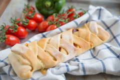 Italian Stromboli Bread Royalty Free Stock Photos