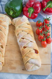 Italian Stromboli Bread Royalty Free Stock Images