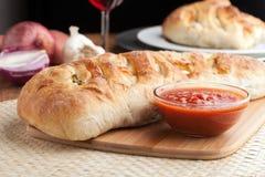 Italian Stuffed Bread Stock Image
