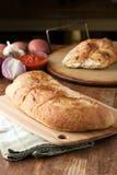 Italian Stuffed Bread Royalty Free Stock Photo