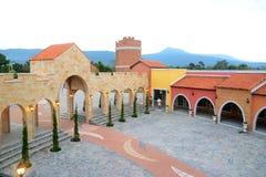 Italian style building Stock Image