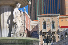 Italian-style fountain  in Las Vegas Stock Photography