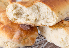 Italian style home-baked bread Royalty Free Stock Photography