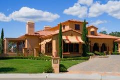 Italian style house Stock Image