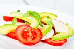 Italian style salad Royalty Free Stock Photo