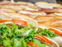 Italian style sandwich Stock Photography