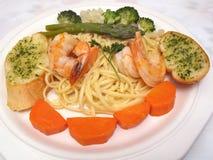 Italian Style Shrimp Royalty Free Stock Photography