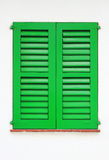 Italian style shutters Stock Image