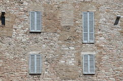 Italian style shutters Stock Images