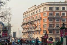 Italian style street in Tianjin Stock Images