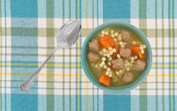 Italian style wedding soup Royalty Free Stock Photography