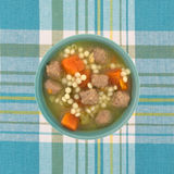 Italian style wedding soup Stock Photos