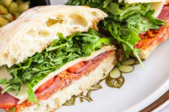Italian sub Stock Photography