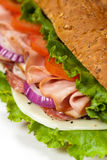 Italian Sub Sandwich Stock Photography