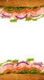 Italian Sub Sandwich Royalty Free Stock Photo