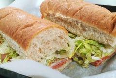 Italian Submarine Sandwich Stock Photography