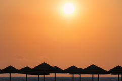 Italian sunset Royalty Free Stock Photography