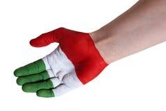 Italian support Stock Photo