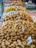 Italian sweets on display Stock Photo