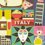 Italian symbols Stock Images