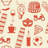 Italian symbols Stock Photos