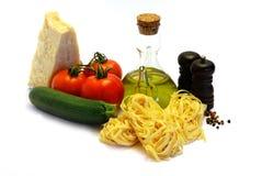 Italian Tagliatelle Stock Image