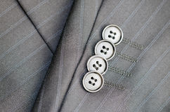 Italian tailored suit Royalty Free Stock Image