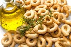 Italian taralli Stock Photo