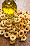 Italian taralli Royalty Free Stock Photography