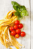 Italian tasty ingredients Stock Photography
