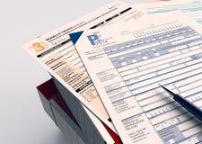 Italian taxes concept Stock Photography