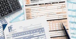 Italian taxes Stock Photography
