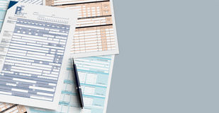 Italian taxes Royalty Free Stock Images