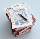 Italian taxes Stock Image