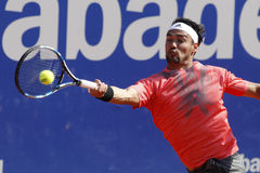 Italian tennis player Fabio Fognini Stock Photos