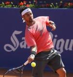 Italian tennis player Fabio Fognini Stock Photography
