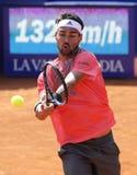 Italian tennis player Fabio Fognini Royalty Free Stock Photo