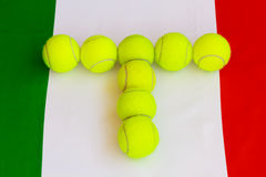 Italian tennis Royalty Free Stock Images
