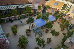 Italian terrace garden Stock Photography