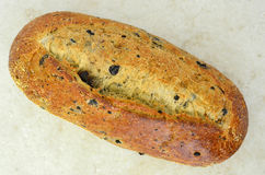 Italian three olive loaf Royalty Free Stock Photos