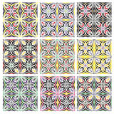 Italian Tile Pattern Royalty Free Stock Images