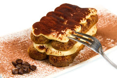 Italian Tiramisu Royalty Free Stock Photography