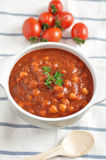 Italian Tomato Bean Soup Royalty Free Stock Image
